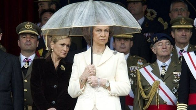 Spain's Queen Sofia (4 May)