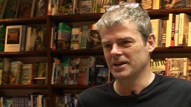 Author Mark Haddon