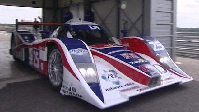 Lola racing car