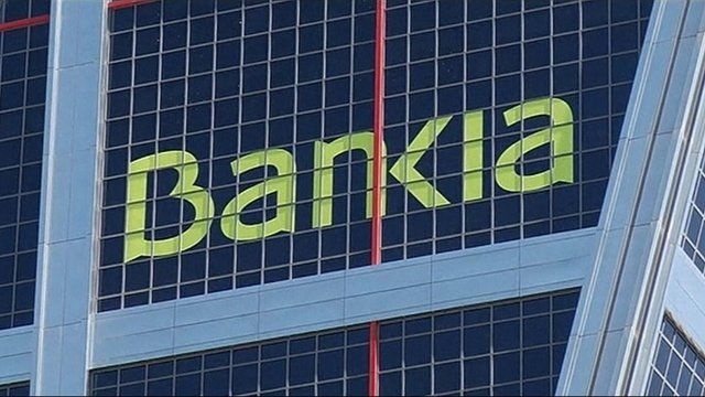 Bankia sign