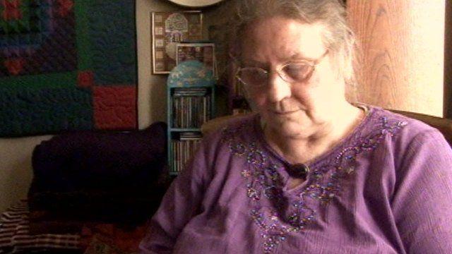 Widow Sandie Colley