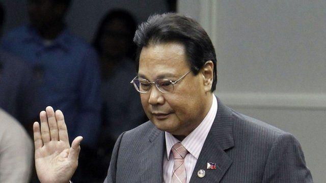 Supreme Court Chief Justice Renato Corona