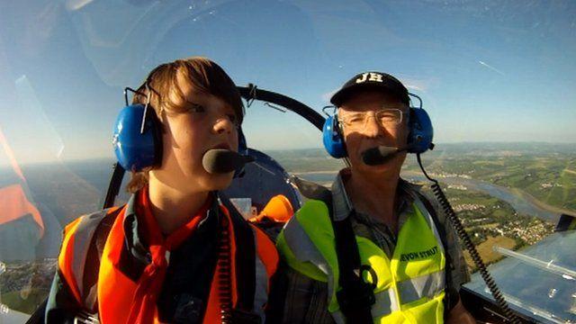 Scouts aerocamp, Devon