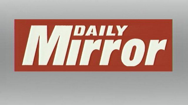 Daily Mirror graphic