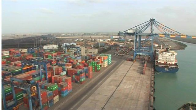 Indian container port