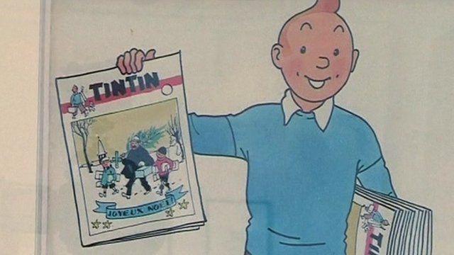 Tintin comic book image
