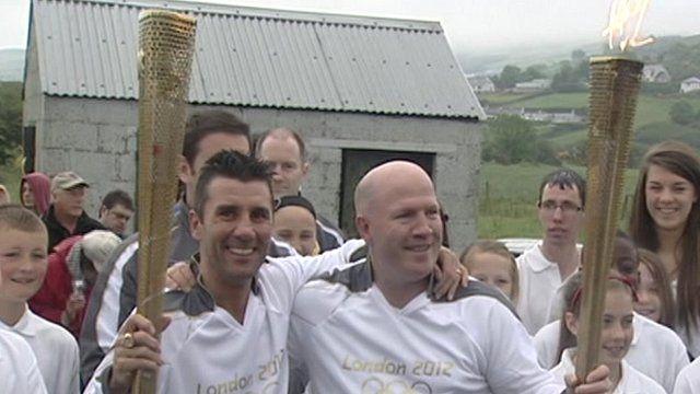 Wayne McCullough and Michael Carruth