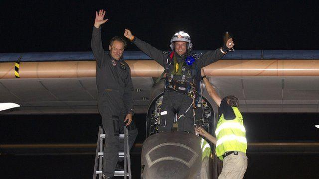 Solar Impulse pilot Bertrand Piccard