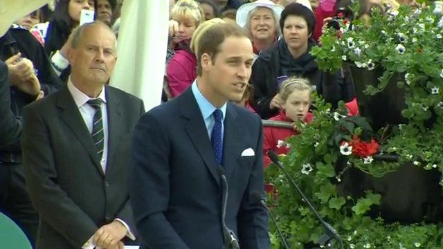 Duke of Cambridge, Prince William