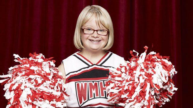 Lauren Potter as Becky in Glee