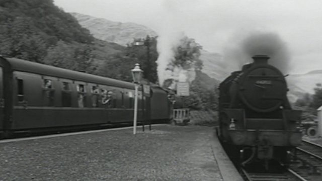 Trains on the West Highland Line