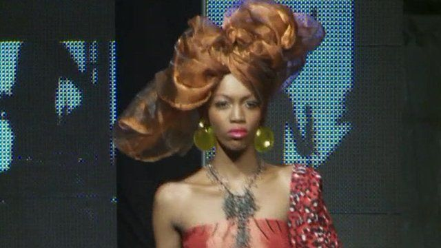 A Close Up On African Designers At Dakar Fashion Week Bbc News