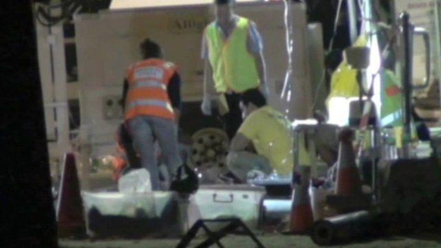 Christmas Island sinking emergency services