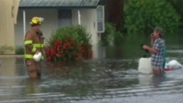 Flooding near Tampa