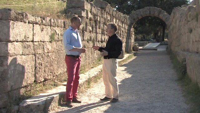 Matt Stadlen and the Professor