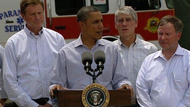 President Barack Obama in Colorado Spring 29 June 2012