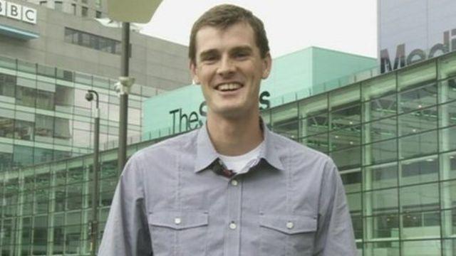 Tennis player Jamie Murray