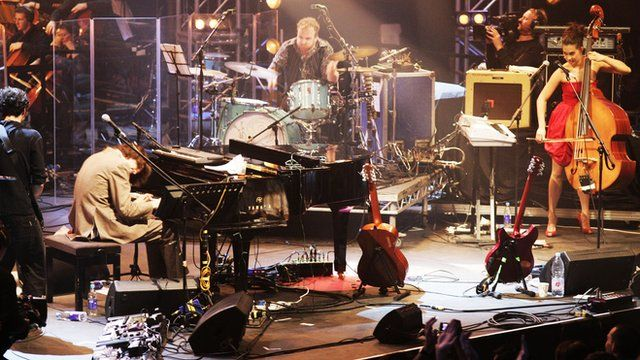 The Guillemots performing at the Electric Proms in 2006