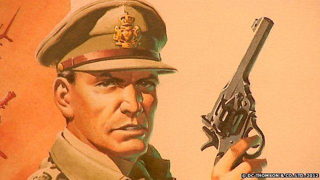 Commando comic artwork (Copyright: D C Thomson)