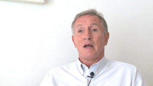 Steve Ridgeway, Chief Executive Virgin Atlantic