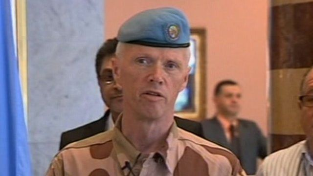 Major General Robert Mood