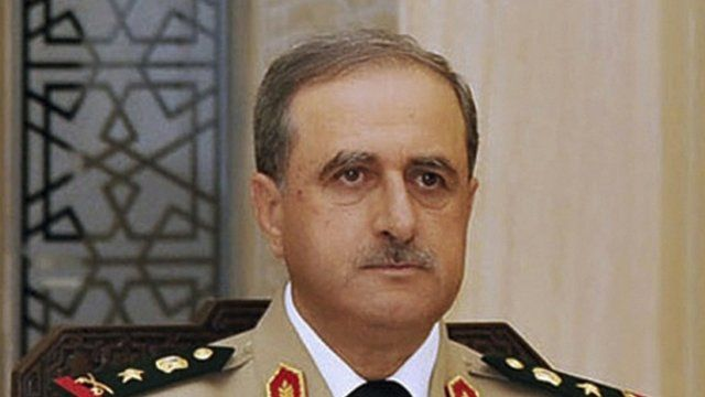 Syrian Defence Minister Daoud Rajha