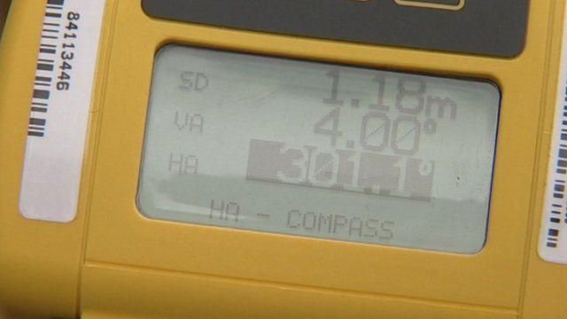 Handheld computer recording address data