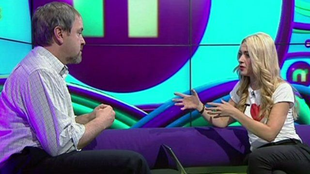 Hayley meets Dr Carl Heneghan