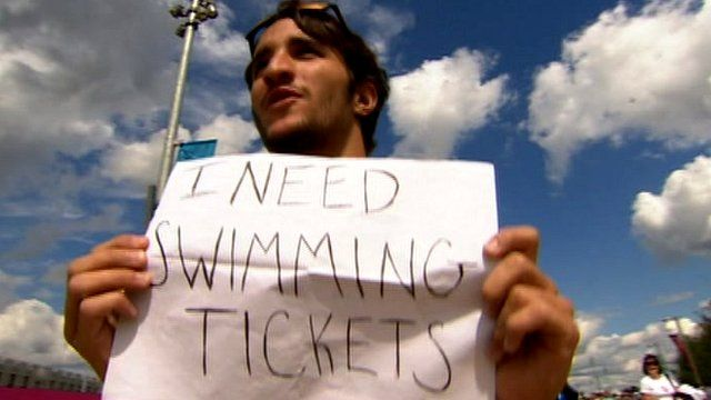 Man appeals for swimming tickets