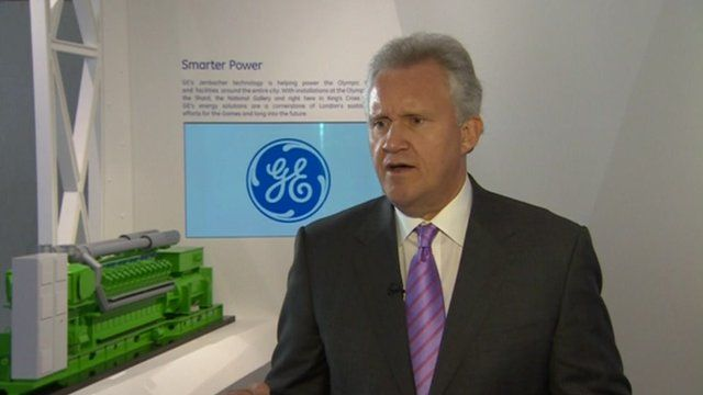 Jeff Immelt, Chief Executive of General Electric Company
