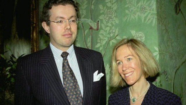 Photo of Hans and Eva Rausing
