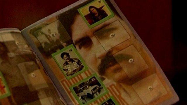 The Pablo Escobar sticker album