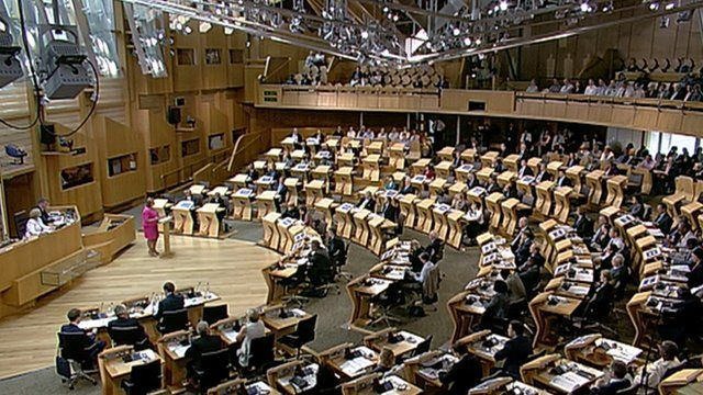 Fiona Hyslop MSP addresses ministers at the international cultural summit in the Scottish Parliament