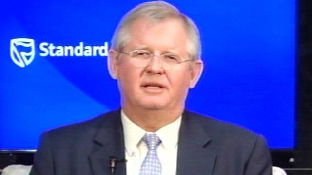 Standard Bank Group chief executive Jacko Maree