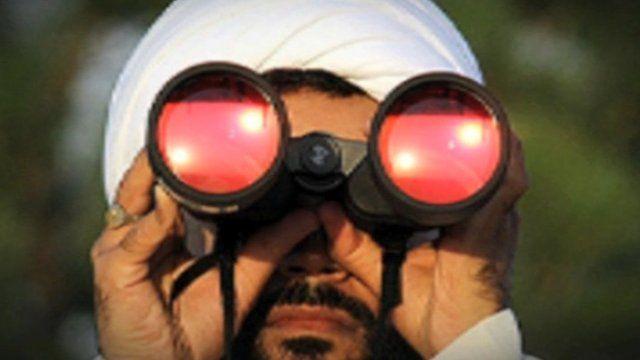 Moon-sighting by an Islamic scholar