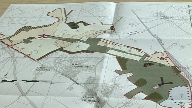 Plans for Alconbury Weald