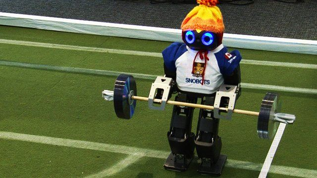 Jimmy the robot