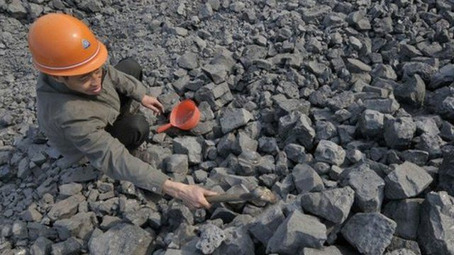 Iron ore inspected in China