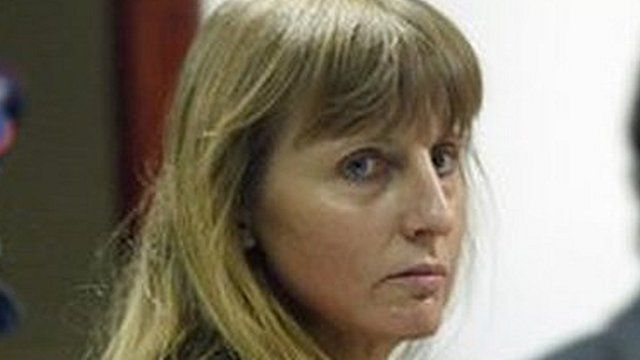 Belgian convicted paedophile Marc Dutroux's estranged wife Michelle Martin, 2004