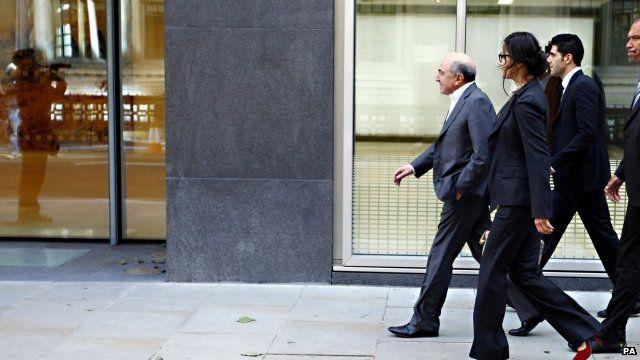 Boris Berezovsky walks into court