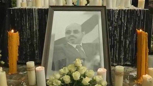 Photo of Meles Zenawi