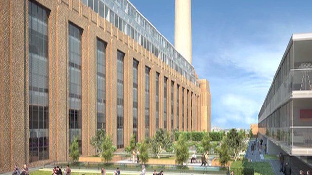 Designs for the redevelopment of Battersea Power Station
