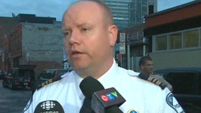 Montreal Police Commander Ian Lafreniere