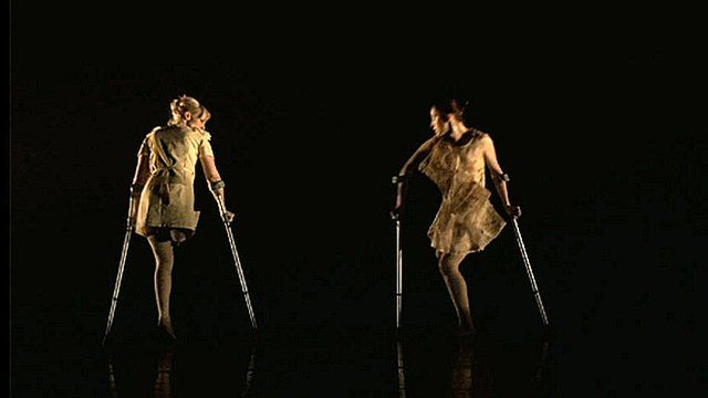 Disabled dancers from Candoco