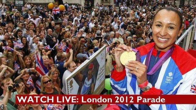 Watch live: London 2012 parade