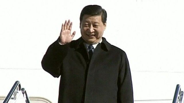 China's leader-in-waiting, Xi Jinping