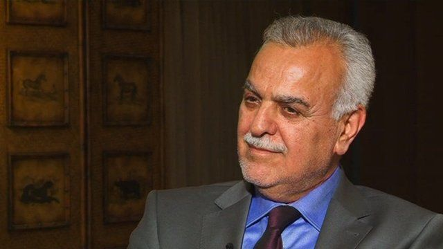 Iraqi Vice-President Tariq al-Hashemi