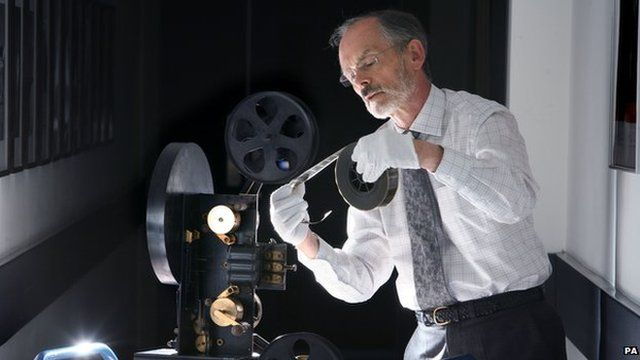 Film being examined