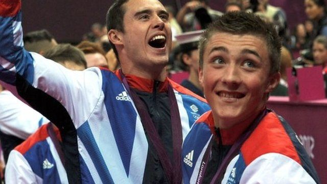 Kristian Thomas and Sam Oldham