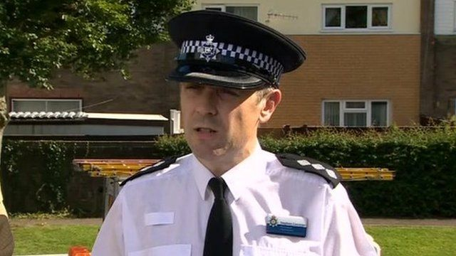 Chief inspector Steve Corcoran, from Gwent Police